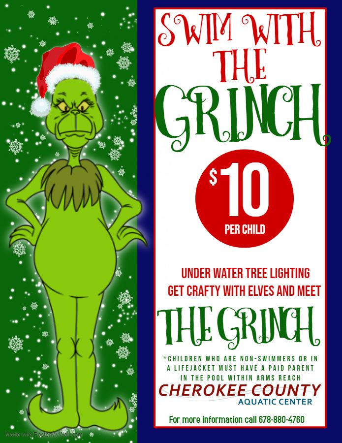 Swim With the Grinch - no date
